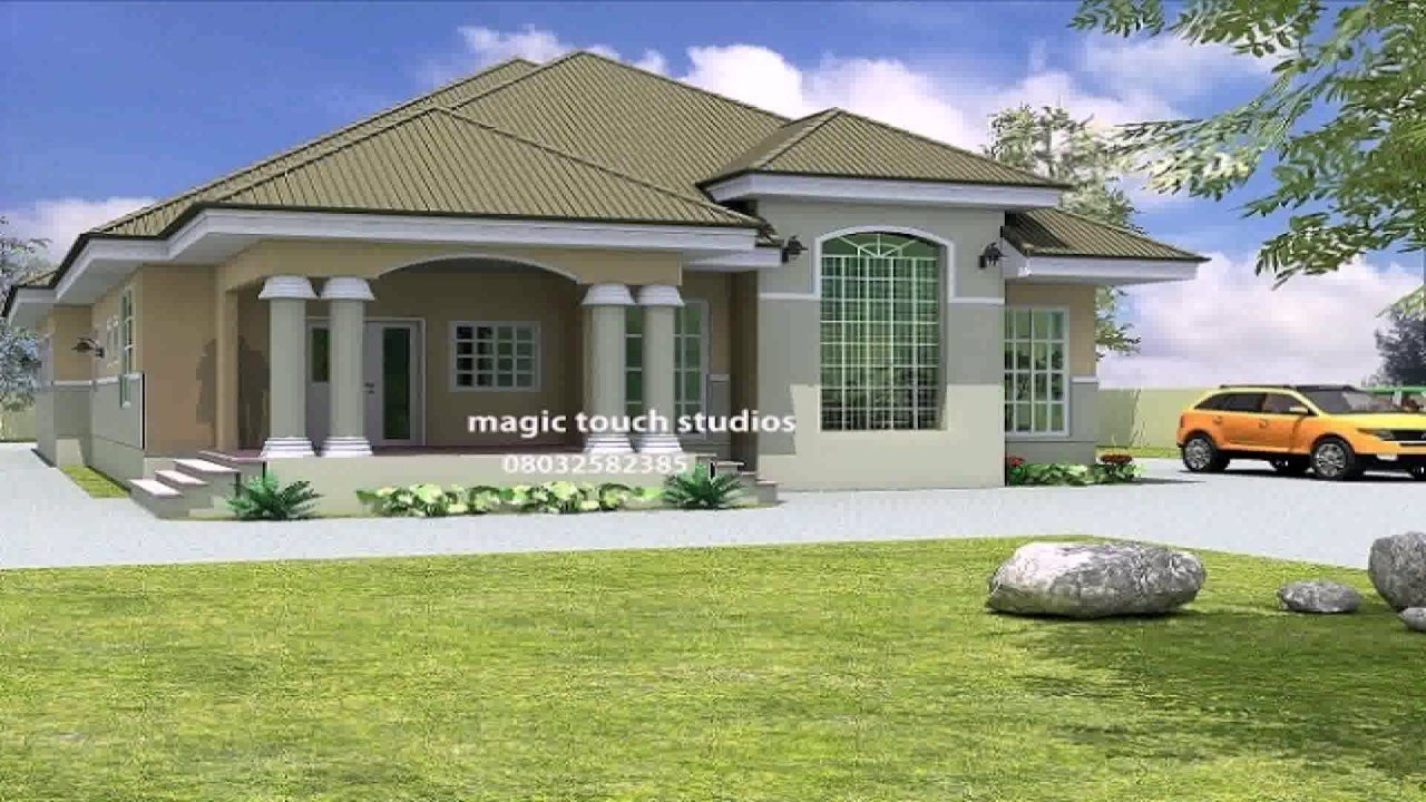 Best 3 Bedroom Bungalow House Designs In Kenya Youtube With Pictures