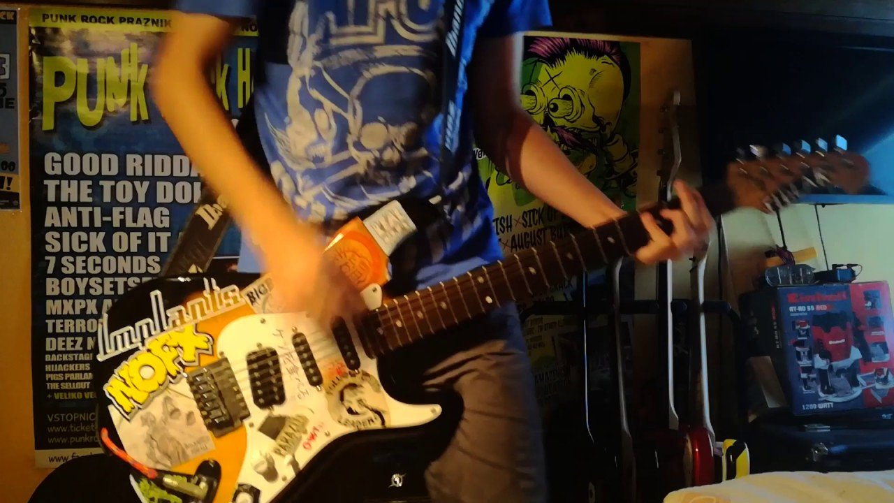 Best Goldfinger Here In Your Bedroom Guitar Cover Youtube With Pictures