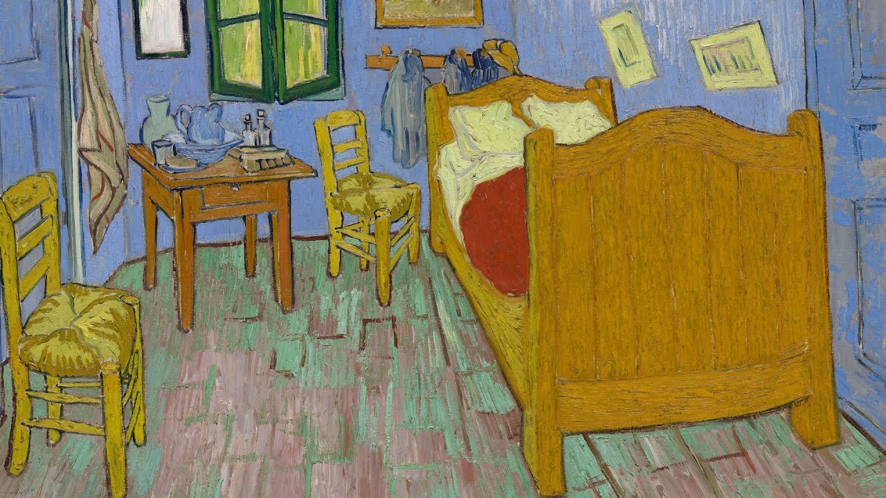 Best Van Gogh S Bedrooms At The Art Institute Of Chicago Youtube With Pictures