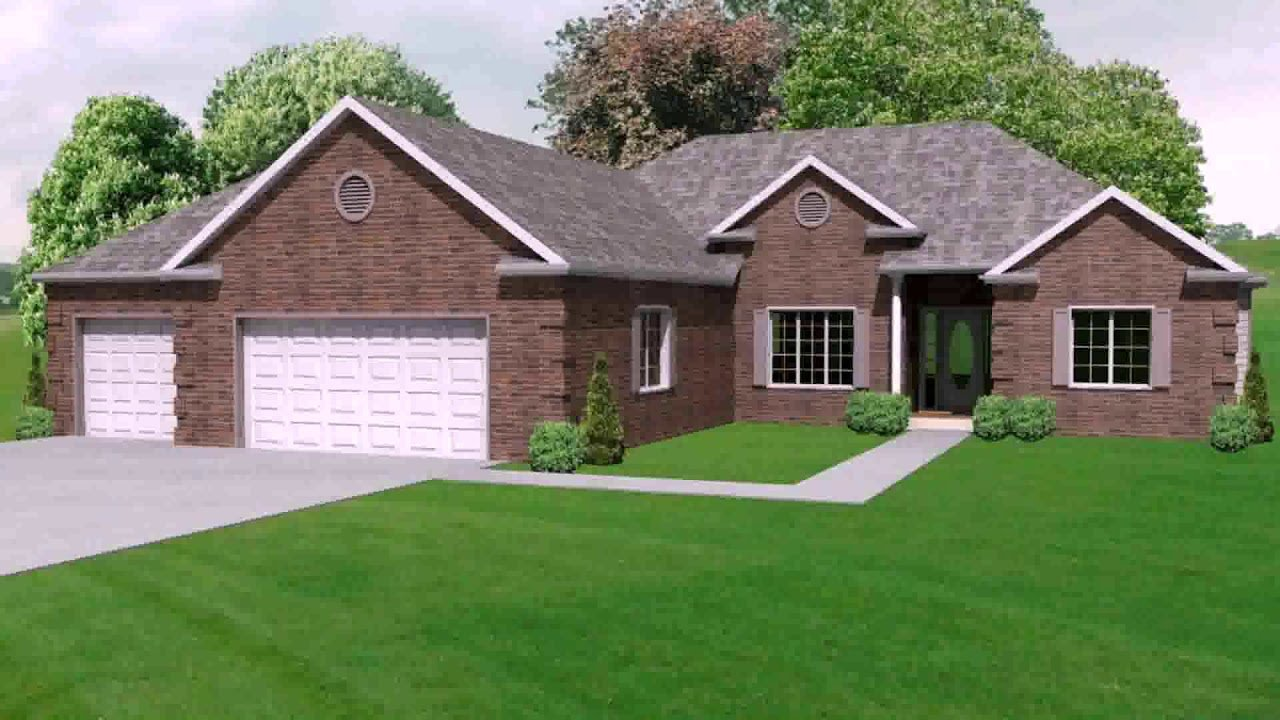 Best 4 Bedroom Ranch House Plans With Basement Youtube With Pictures