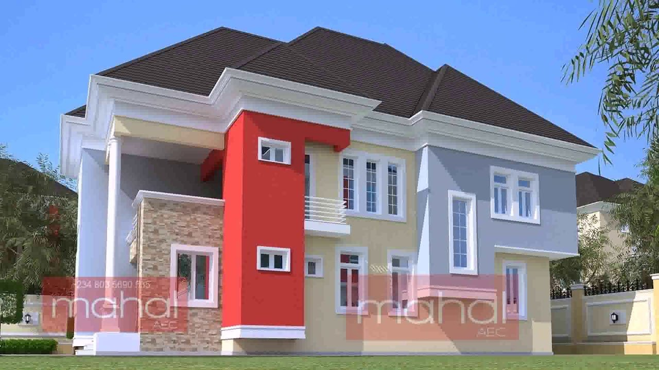 Best 4 Bedroom Duplex Building Plans In Nigeria Youtube With Pictures