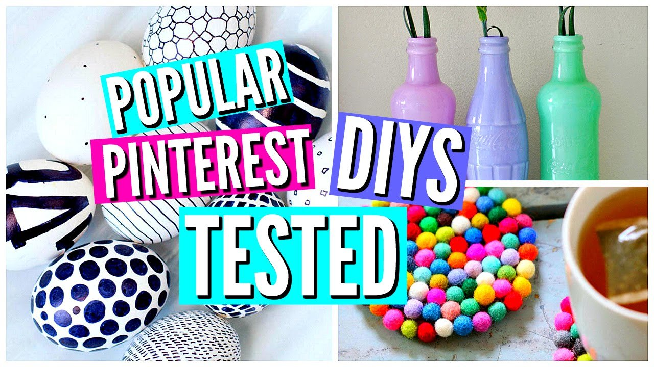 Best Diy Pinterest Room Decor Tested Youtube With Pictures