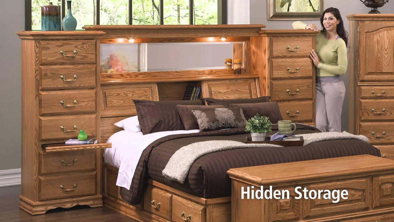 Best Mid Wall Headboard With Secret Compartments Youtube With Pictures