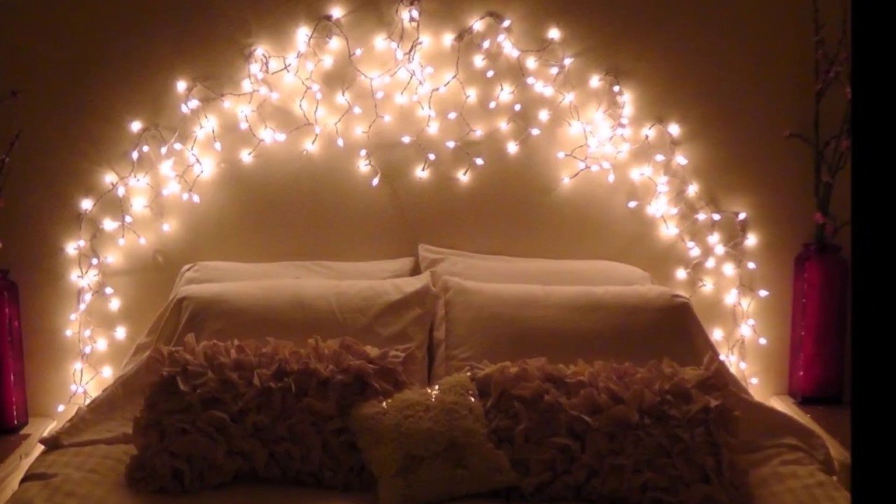 Best Cool Diy Bedroom Lighting Decoration Ideas Youtube With Pictures