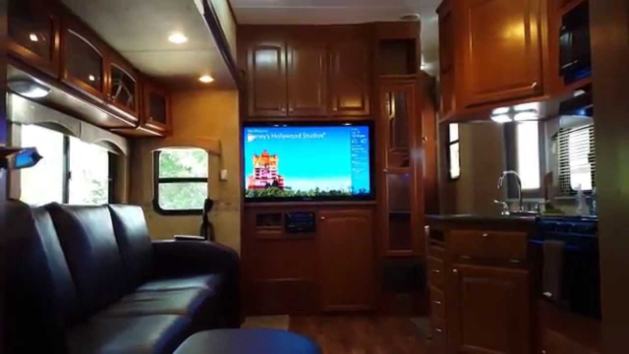 Best 38Ft Heartland Elkridge Quad Slide 2 Bedrooms 2 Bathrooms Rv Sleeps 10 Youtube With Pictures