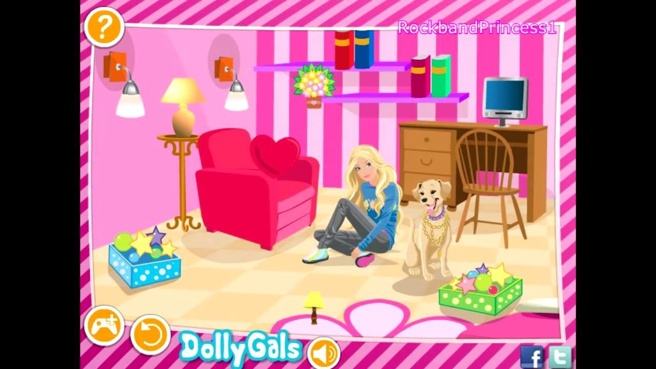 Best Barbie Games Decorate Barbie S Bedroom Game Barbie With Pictures