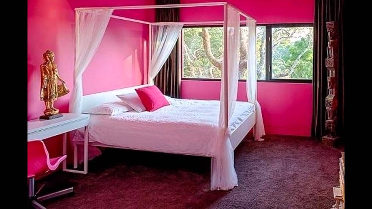 Best Pink Bedroom Paint Colors Youtube With Pictures