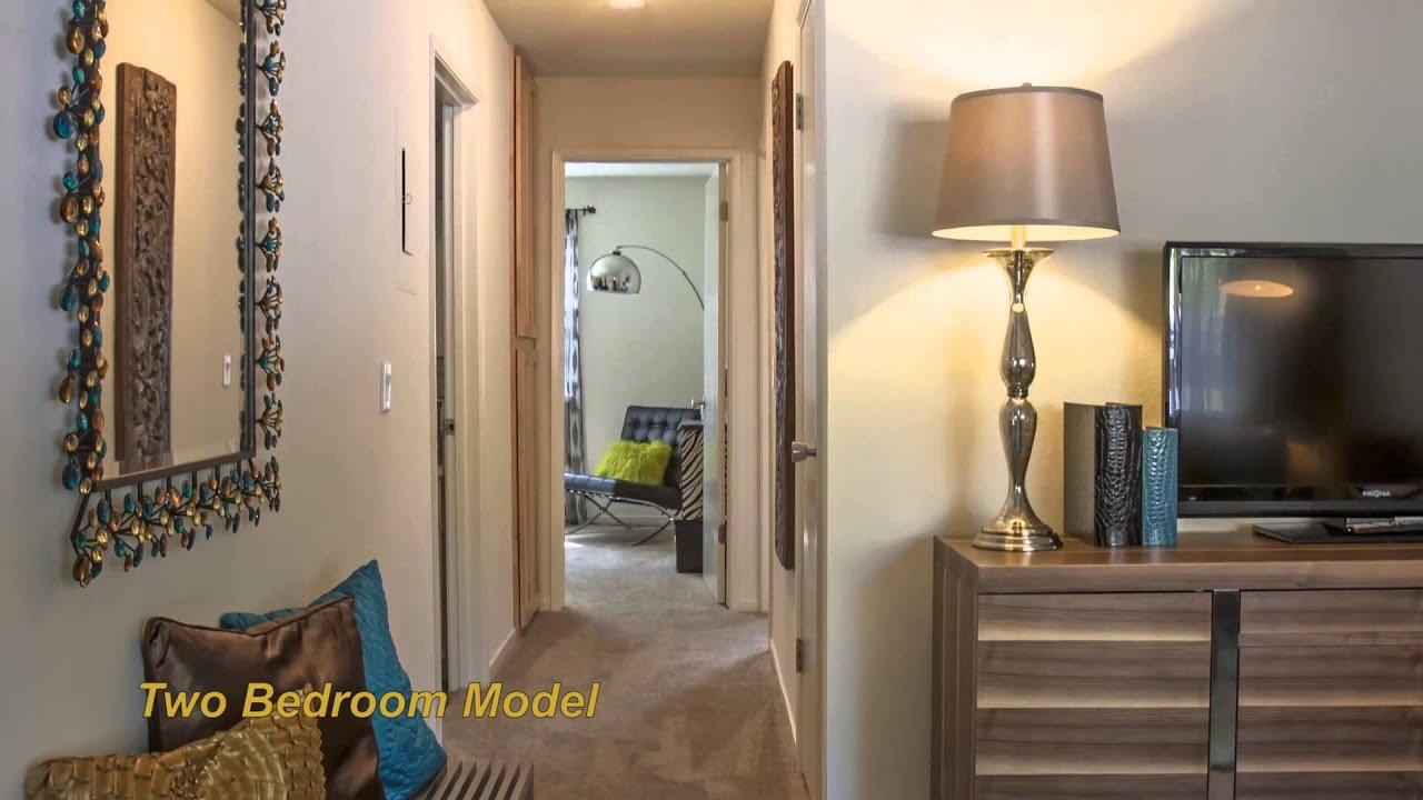 Best Cherrywood Apartments San Jose Ca 2 Bedroom Model Video With Pictures