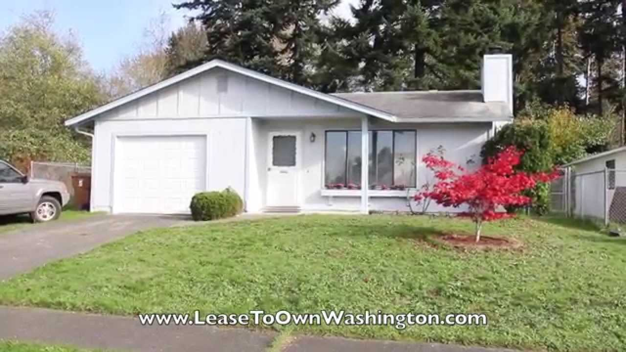 Best Rent To Own This 3 Bedroom Tacoma Home Credit Dings Ok With Pictures