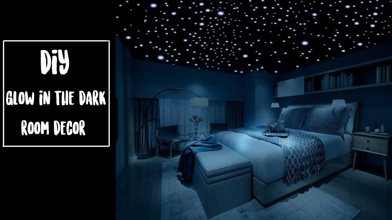 Best Diy Glow In The Dark Room Decor Youtube With Pictures