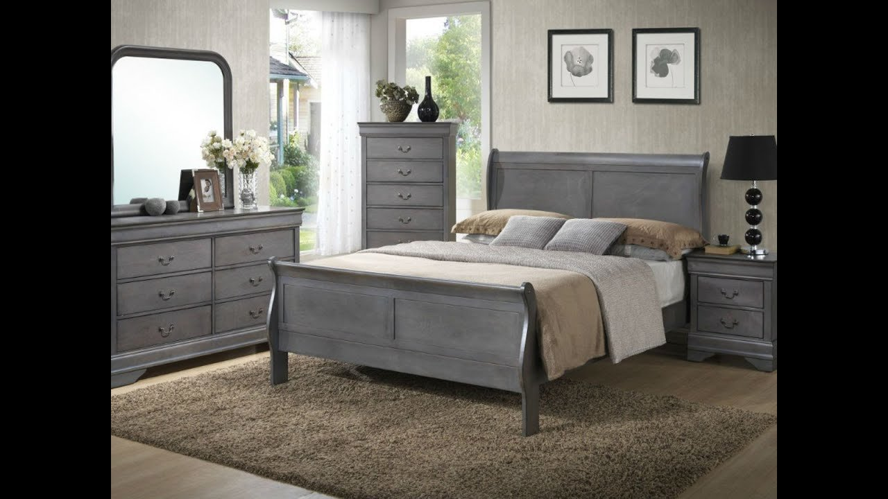 Best Gray Louis Phillippe Bedroom From Seaboard Bedding And With Pictures