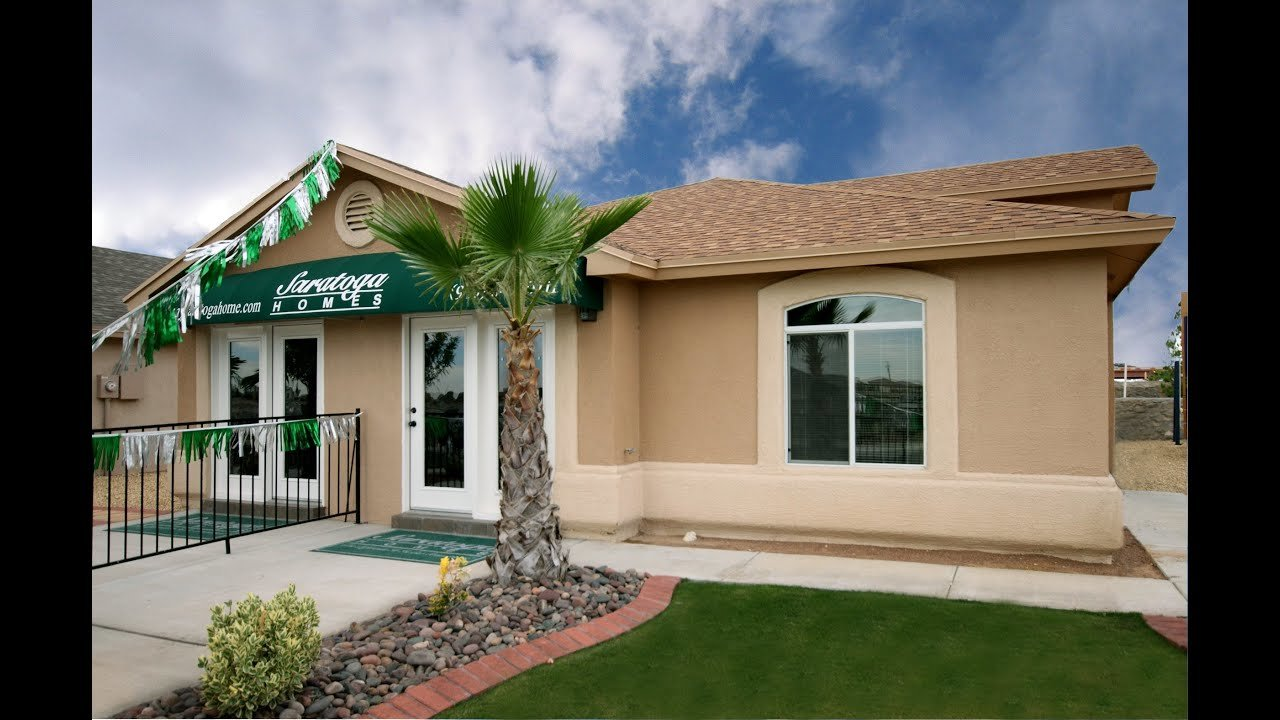 Best 4 Bedroom Home El Paso Tx Briante Model By Saratoga With Pictures