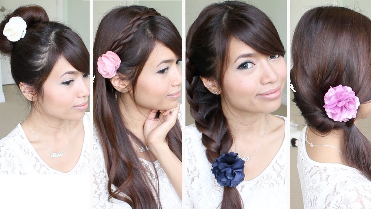 Free Quick Easy Back To School Hairstyles For Medium Long Wallpaper