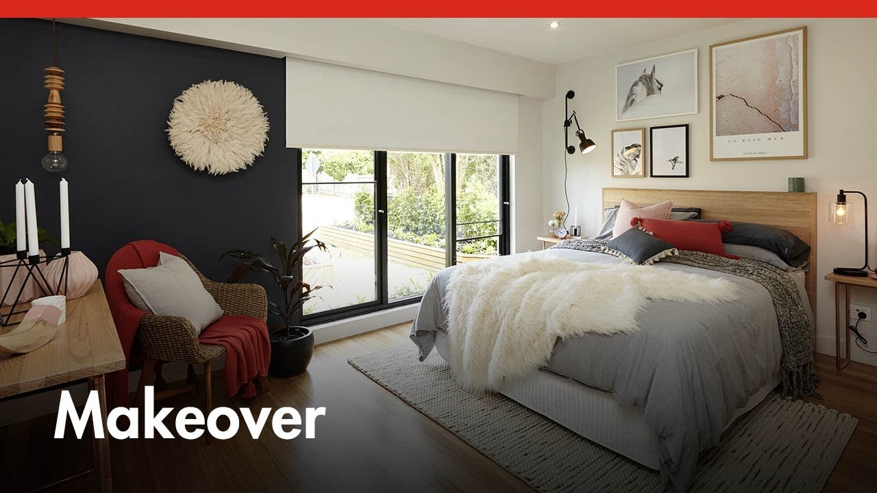 Best Contemporary Master Bedroom Makeover D I Y At Bunnings With Pictures