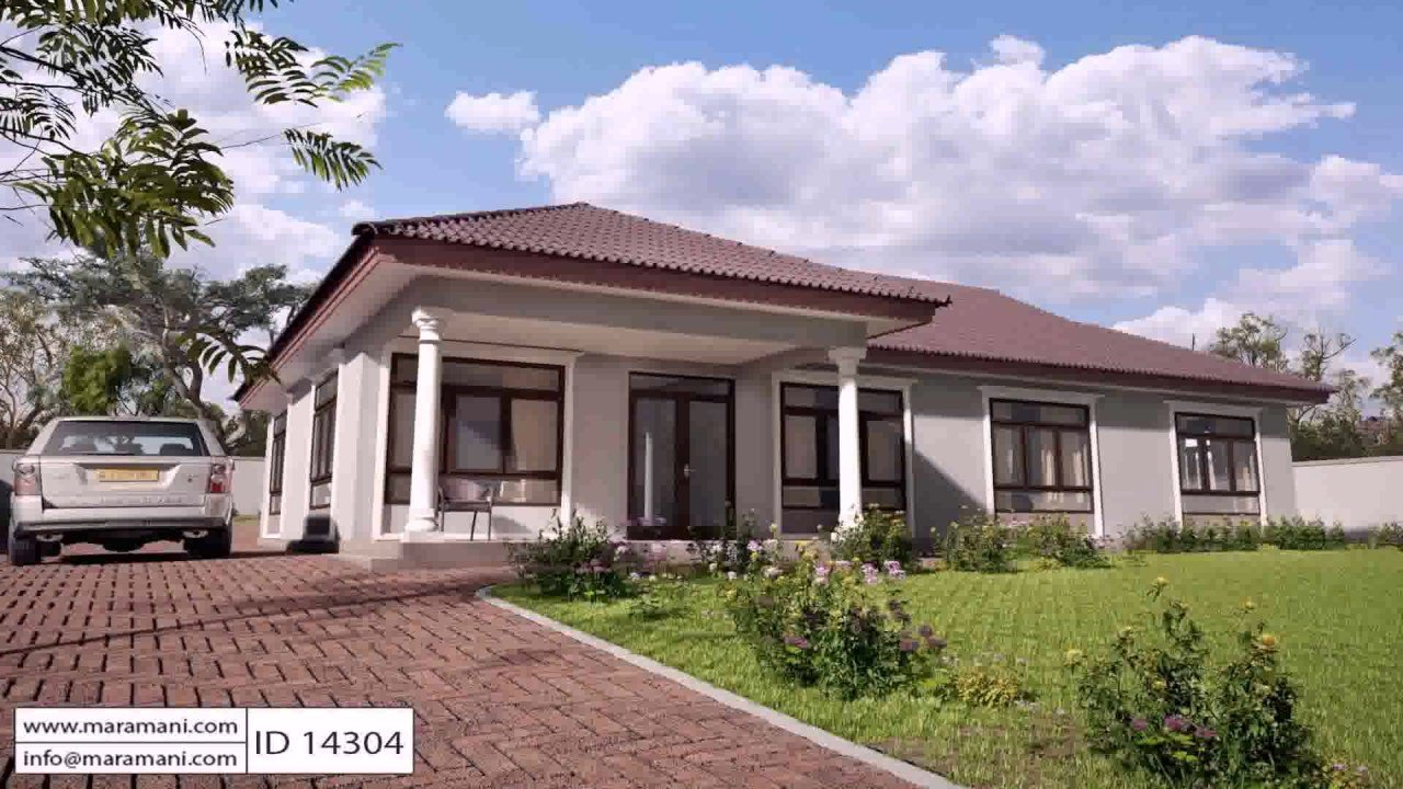 Best Free 4 Bedroom House Plans In Kenya Youtube With Pictures