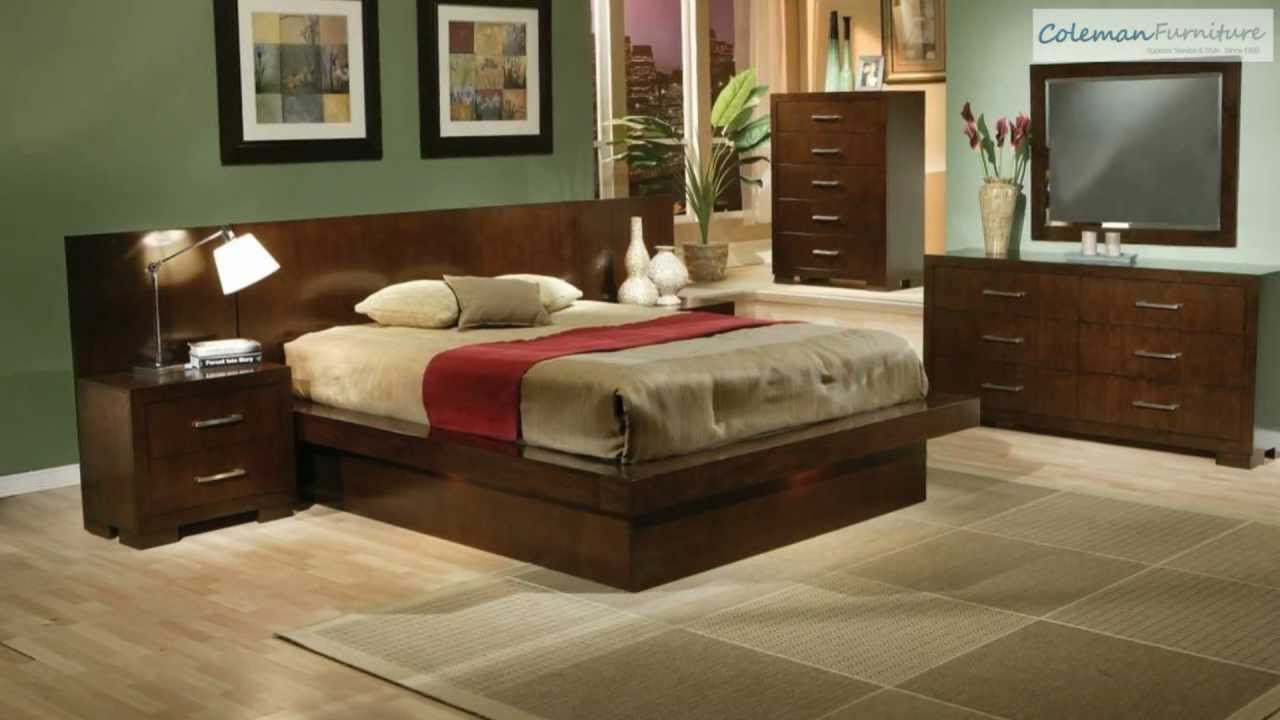 Best Jessica Platform Bedroom Collection From Coaster Furniture Youtube With Pictures
