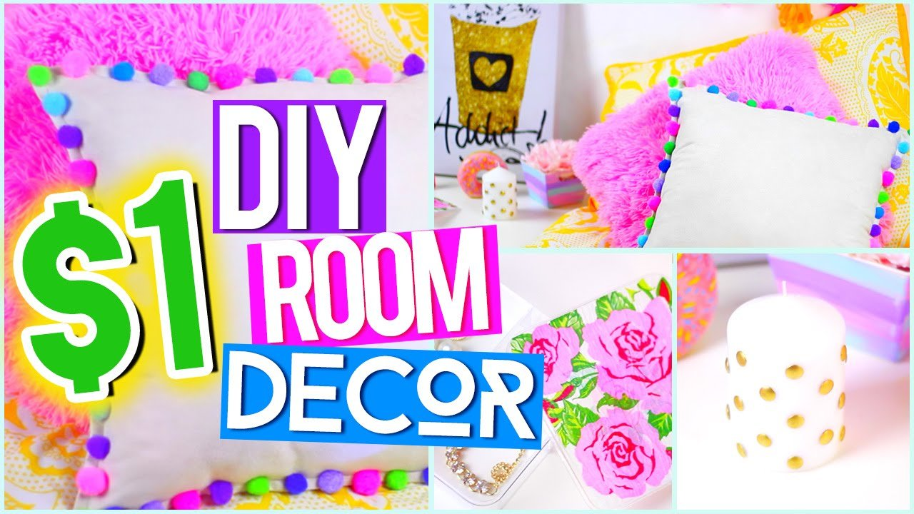 Best Diy 1 Room Decor ♥ Tumblr Pinterest Inspired Youtube With Pictures