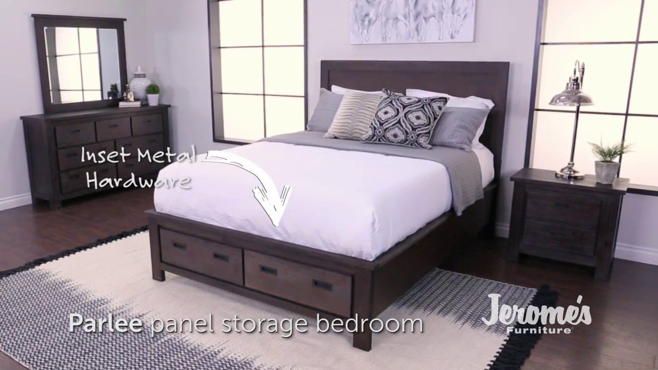 Best Jerome S Furniture Parlee Bedroom Set Youtube With Pictures