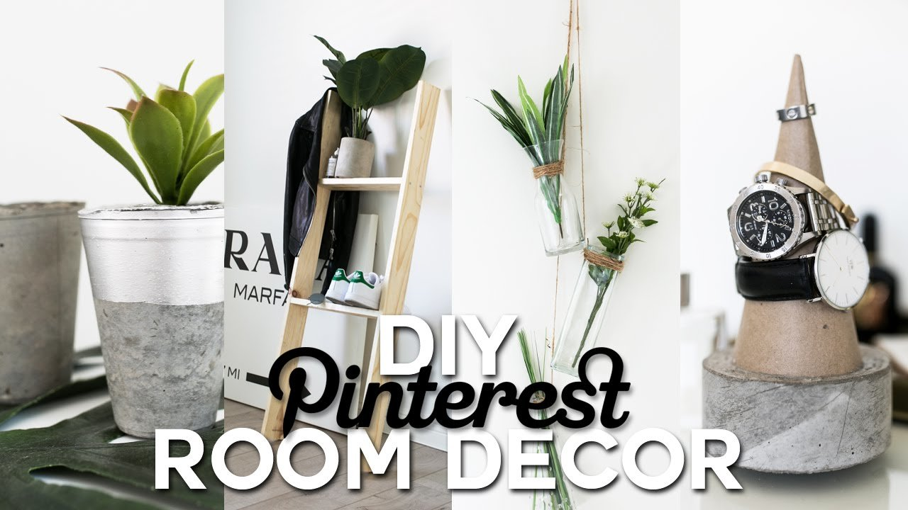 Best Diy Pinterest Inspired Room Decor Minimal Simple With Pictures