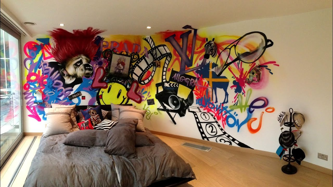 Best Bedroom Sets Graffiti Bedroom Sets Inspirations For With Pictures