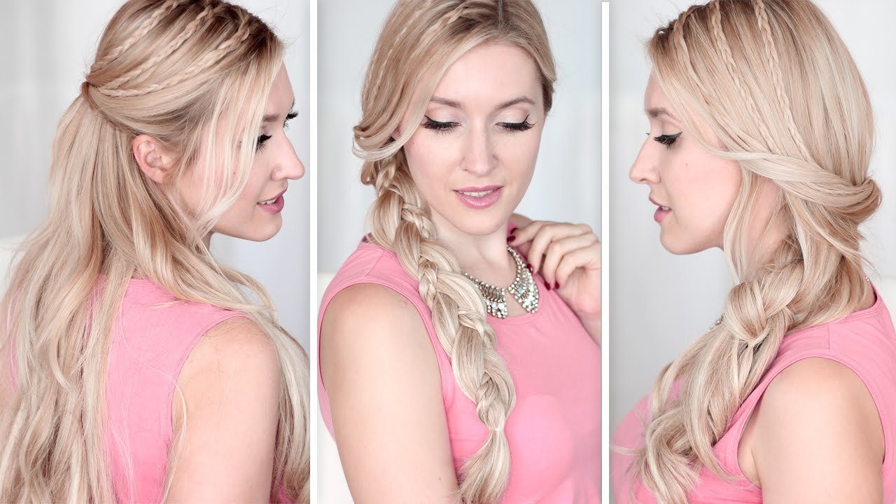 Free Long Hair Tutorial Running Late Hairstyles For School Wallpaper