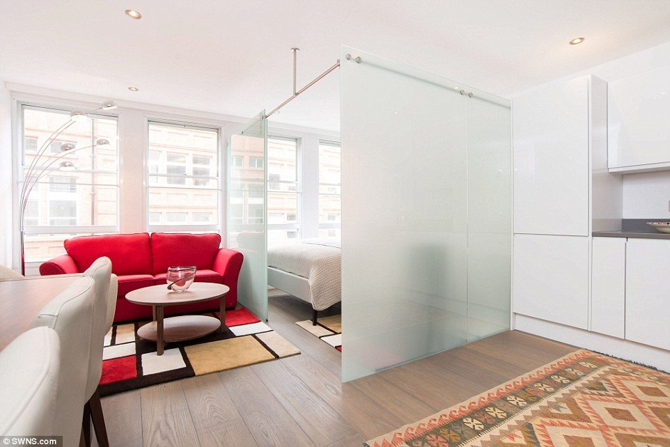 Best One Bedroom Flat Among Smallest In London Hits Market For With Pictures