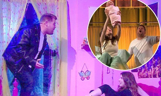 Best James Corden Seduces Anna Kendrick In Steamy Bedroom Scene With Pictures