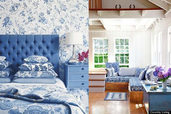 Best Color Diary Decorating Blue And White Rooms Video With Pictures