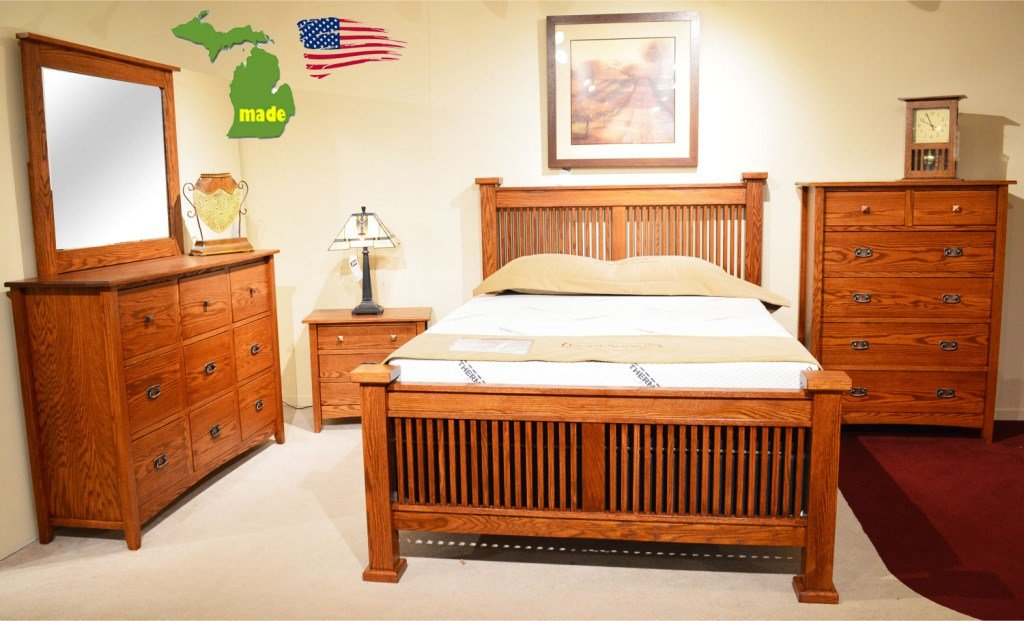 Best Michigan Mission Bedroom Furniture Made In Michigan With Pictures