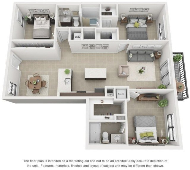 Best Outstanding 1 Bedroom Apartments For Rent In Hialeah Ideas Bedroom Juventudunida Org With Pictures