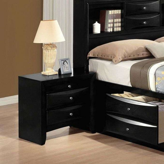Best Buy Ireland 4Pcs Bedroom Set With Storage Bed In Black In With Pictures