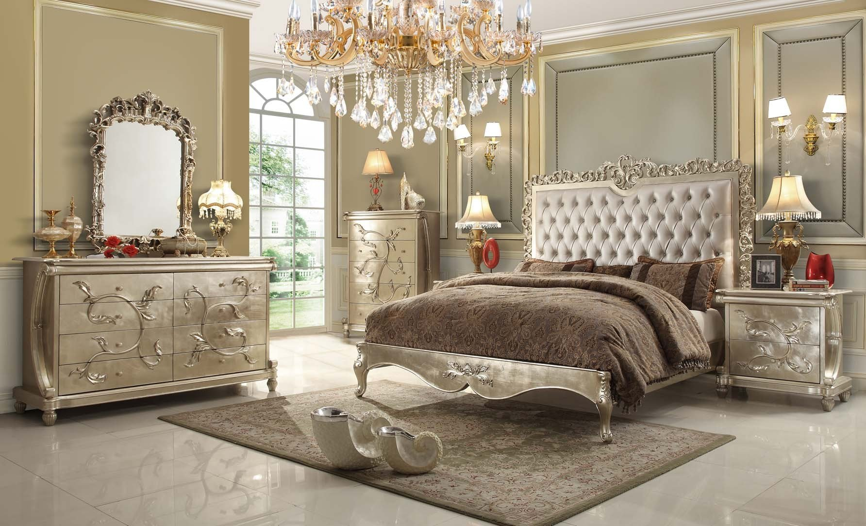 Best Pearl Victorian Design Bedroom Set From H*M*Y Design Shoppingstock With Pictures