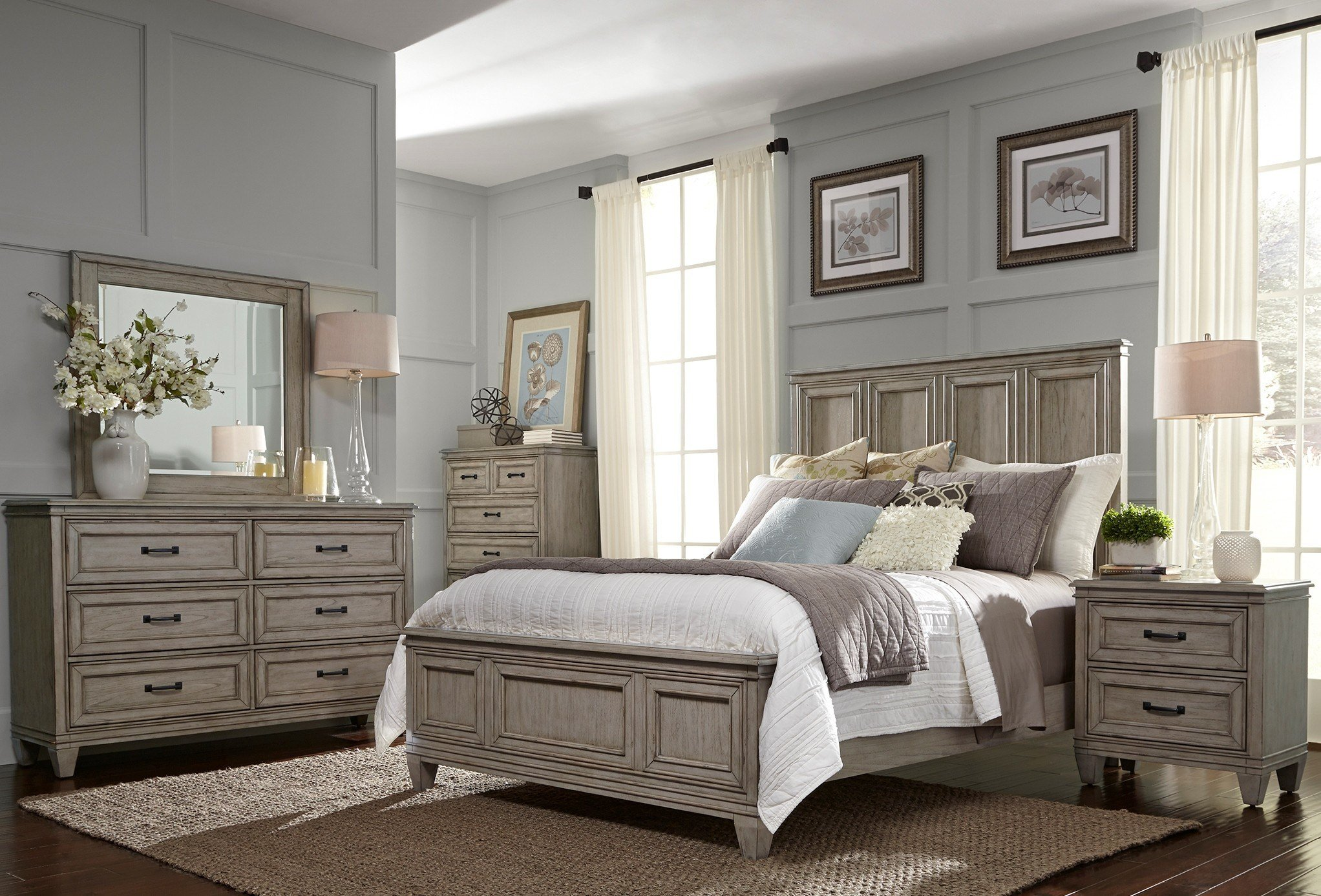 Best Grayton Grove Driftwood Panel Bedroom Set From Liberty With Pictures