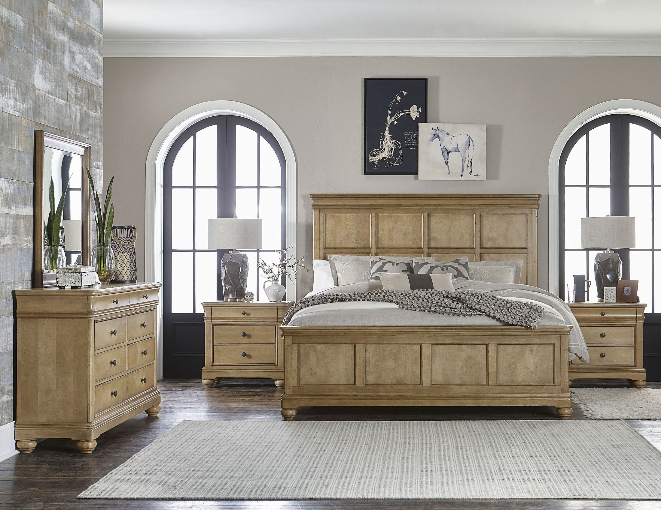 Best Ashby Woods Aged Birch Panel Bedroom Set From Legacy With Pictures