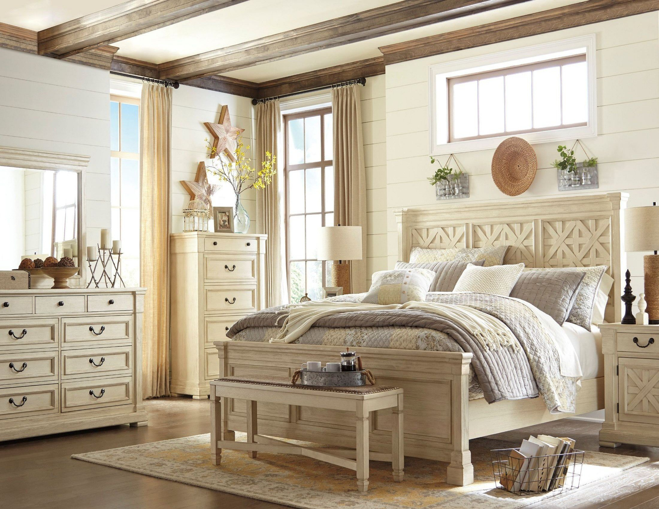 Best Bolanburg White Panel Bedroom Set From Ashley Coleman With Pictures