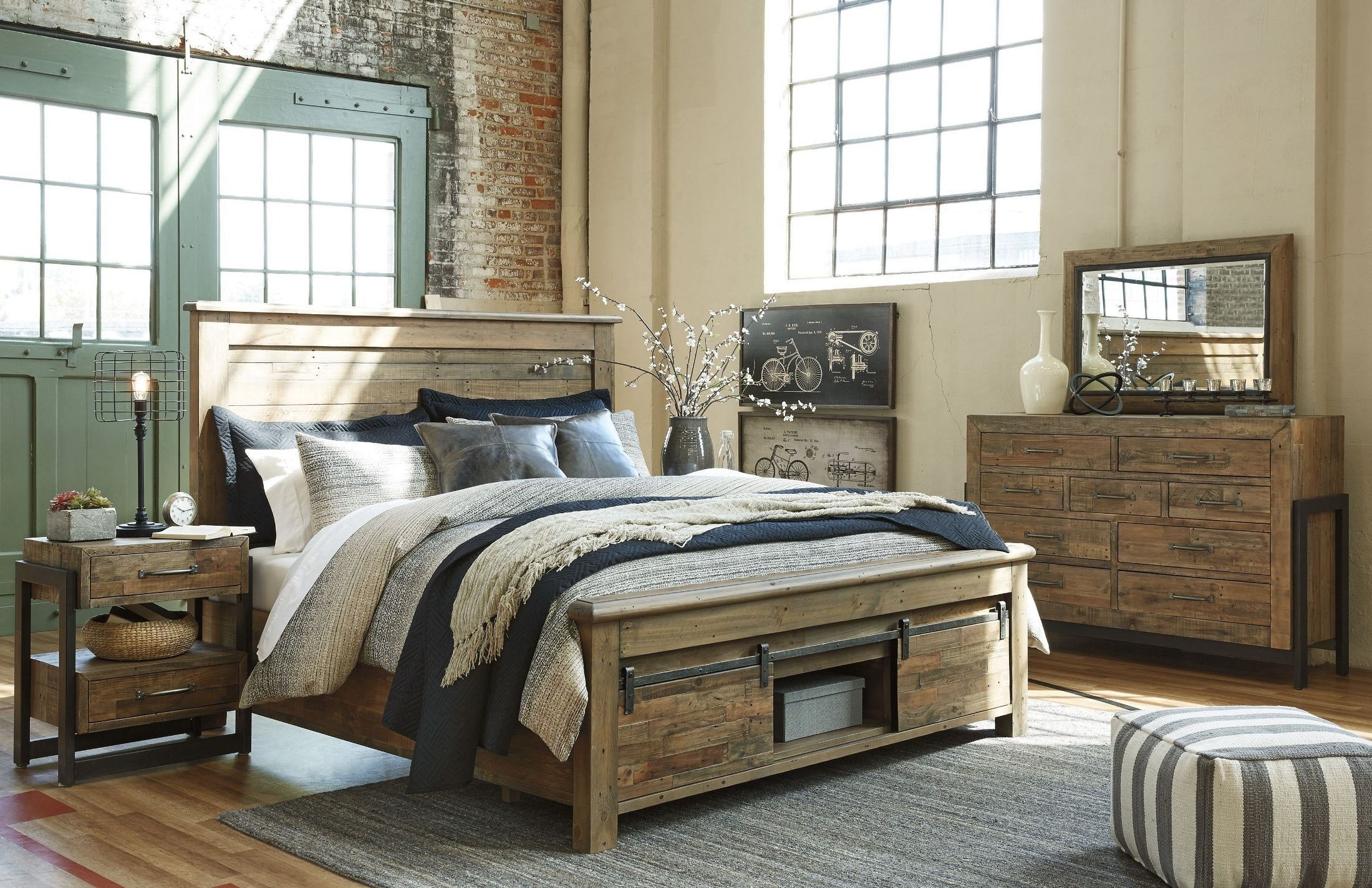 Best Sommerford Brown Storage Panel Bedroom Set From Ashley With Pictures