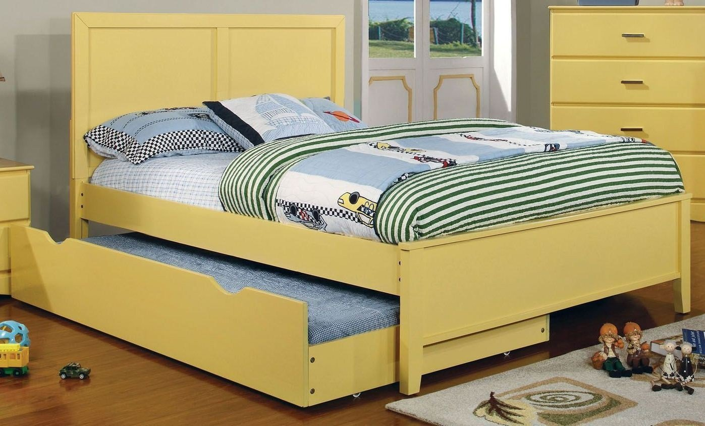 Best Prismo Yellow Youth Platform Bedroom Set From Furniture Of With Pictures