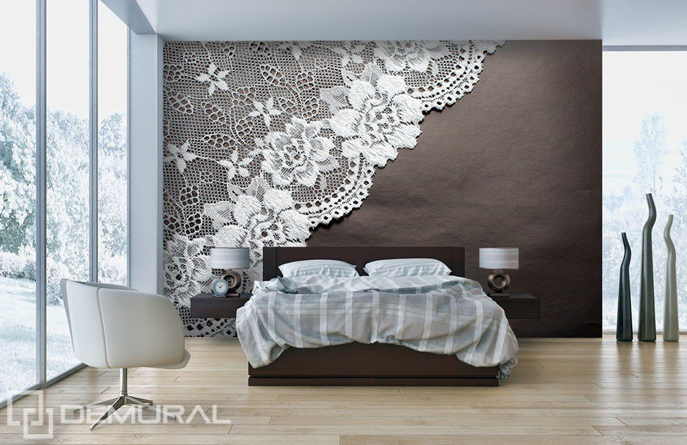 Best Lace Dream Bedroom Wallpaper Mural Photo Wallpapers With Pictures