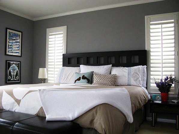 Best Gray Bedroom Colors With Black Furniture Decolover Net With Pictures
