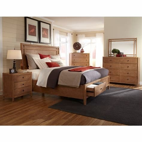 Best American Woodcrafters' Natural Elements Bedroom Furniture With Pictures