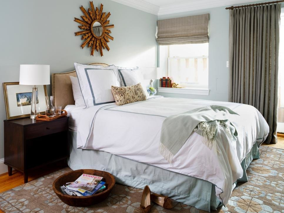 Best Stylish Ways To Decorate With Mirrors In The Bedroom Hgtv With Pictures