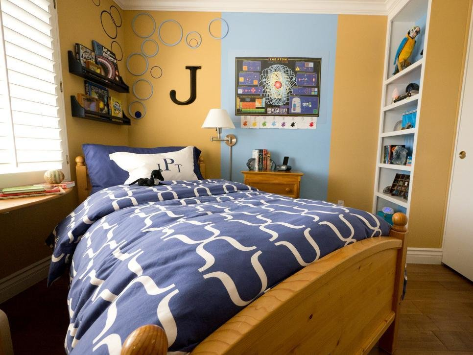 Best Small Boy S Room With Big Storage Needs Hgtv With Pictures