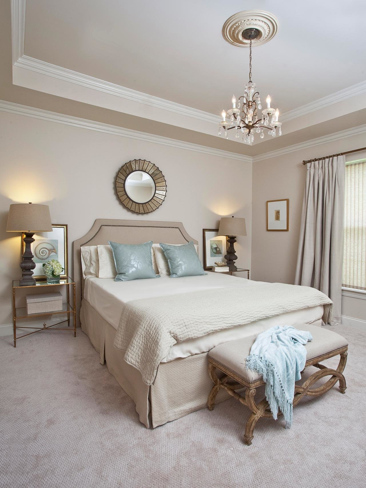 Best Neutral Beach Inspired Bedroom Hgtv With Pictures
