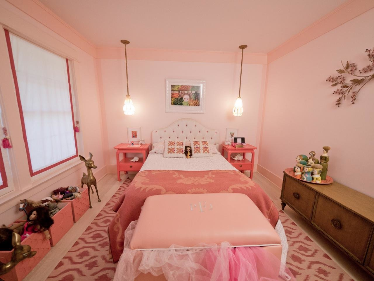 Best Girls Bedroom Color Schemes Pictures Options Ideas Hgtv With Pictures