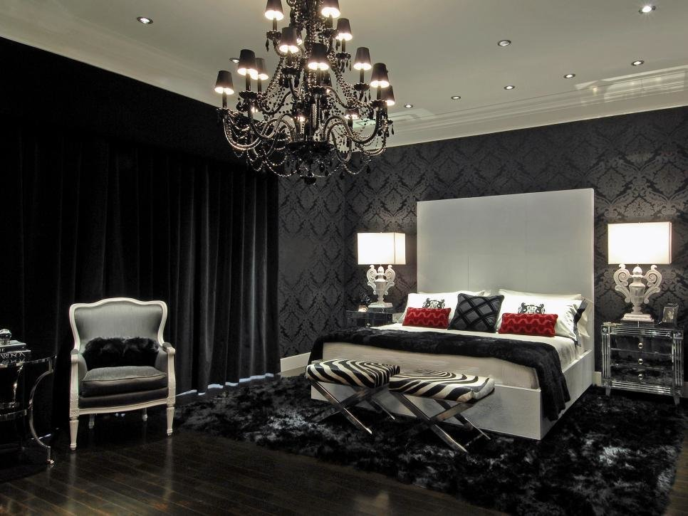 Best 15 Black And White Bedrooms Hgtv With Pictures