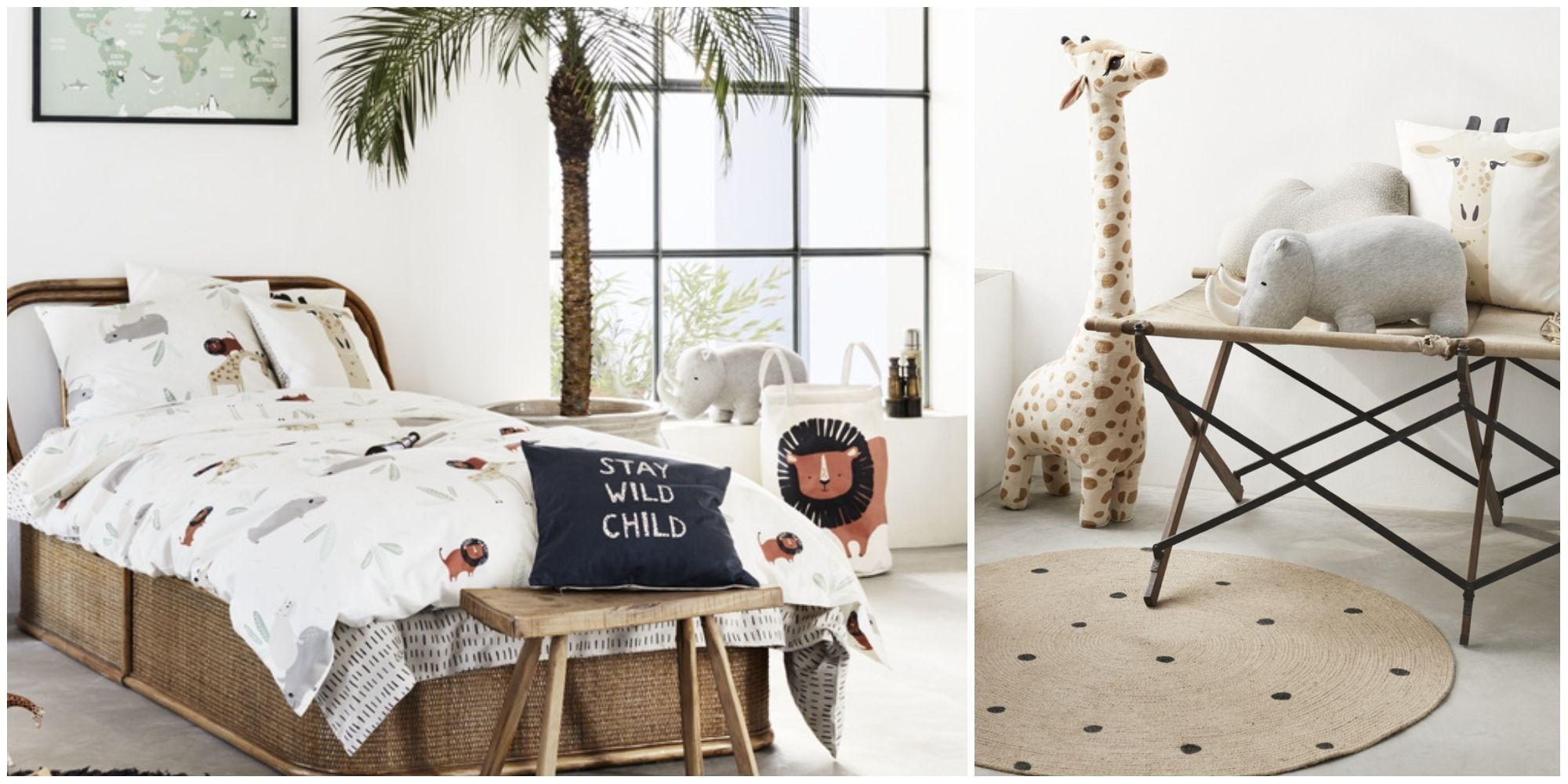 Best H M Home Launches Playful Safari Themed Children S Bedroom With Pictures