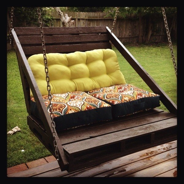Best Pallet Diy Porch Swing Homedesignboard With Pictures