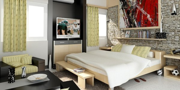 Best Tips In Designing Cosy Studio Type Rooms Home Design Lover With Pictures