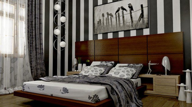 Best 20 Bedroom Ideas With Striped Walls Home Design Lover With Pictures