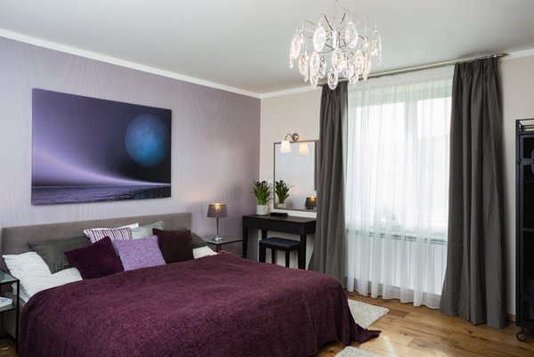 Best 15 Stunning Black White And Purple Bedrooms Home Design Lover With Pictures